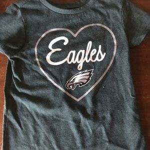 NFL Eagles girls 3T